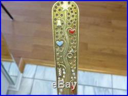 1939 Gift Tree MICHELSEN Enamel CHRISTMAS 925S Sterling Silver Spoon XMAS