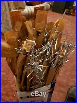 48 Christmas Tree Christmas Branch 23 Aluminum Silver Replacement Parts