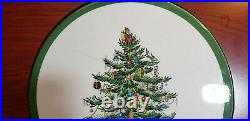 49 pcs SPODE Wallace CHRISTMAS TREE Stainless Flatware 8 PLACE SETTINGS