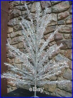 6 1/2 ft. Silver Aluminum 56 branch Christmas Tree. Scranton, Pa
