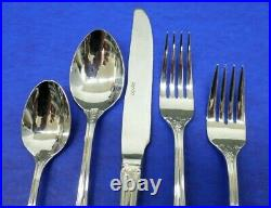 60 pcs SPODE Wallace CHRISTMAS TREE Stainless 18/10 Flatware 12 PLACE SETTINGS