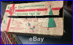7' Evergleam Silver Fountain Aluminum Christmas Tree