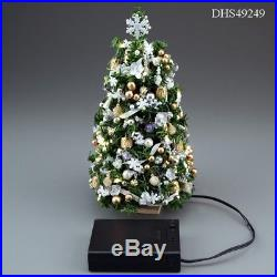 7 Lighted Silver/Gold Ultimate Christmas Tree 112 Scale