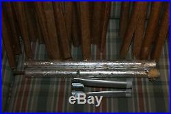 Aluminum Christmas Tree 4 Ft Vintage Silver Evergleam Legs Stand