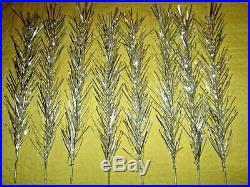 Aluminum Taper Silver Xmas Tree 6 Ft. 113 Branches Aluminum Co. Of America