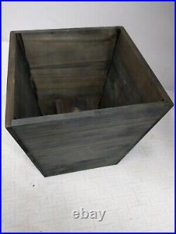 Balsam Hill 4' Silver White Spruce Pot Tree 33 wide Pre-lit New Box Open