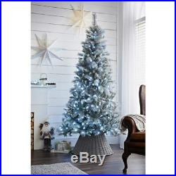 Brand New Pre-Lit Montana Silver Christmas Tree 7ft indoor/Outdoor Use 912 Tips