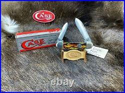 Case XX 1989 Centennial CT2131 Canoe Knife Christmas Tree Handles Mint Box 50A