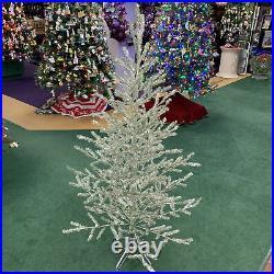 Christmas Tinsel 5-Foot Tree Plastic Home Decor Vintage-Look Retro Ytm225