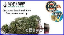 Christmas Tree Stand New lightweight aluminium, No plastic, Very Stabile, USA