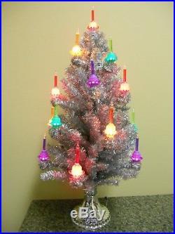 Christopher Radko SHINY BRITE Bubble Light Christmas Tree ...