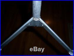 Collector Vtg 3 Ft Neat Retro Silver Sprakler Stainless Aluminum Xmas Tree