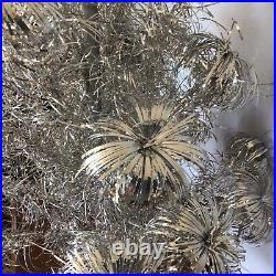 Consolided Novelty Company 1960s Aluminum 4 Foot Christmas Tree