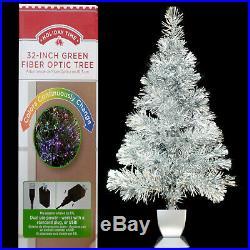 Fiber Silver Christmas Tree