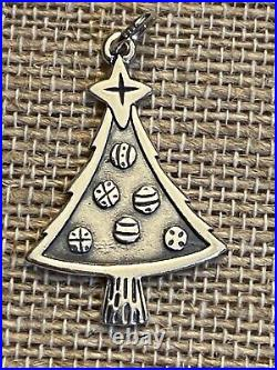 JAMES AVERY Sterling Silver CHRISTMAS TREE w Ornaments Charm #536 RETIRED