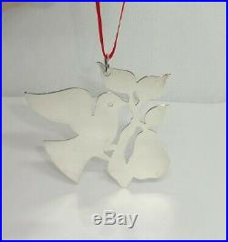 James Avery RETIRED Christmas Ornament Partridge in a Pear Tree Sterling Silver