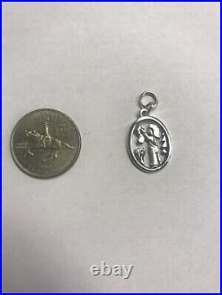 James Avery Sterling Silver Christmas Tree Dog Stocking Charm