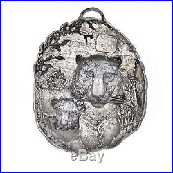 Limited Edition Buccellati Christmas Tree Ornament Sterilng Silver 925 Italy