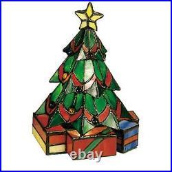 Meyda Lighting 9H Christmas Tree Accent Lamp, Green Flame 12413