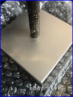 NEW Pottery Barn FACETED MIRROR Medium Smoke GLASS TREE CHRISTMASBLING (85)