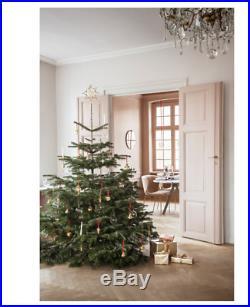 New Georg Jensen Christmas Tree Adorn Star Medium Silver Festive Homeware Decor