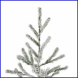 Northlight 5' Flocked Alpine Coral Artificial Christmas Tree Unlit