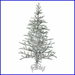 Northlight 5 ft. Flocked Pencil Alpine Coral Unlit Christmas Tree