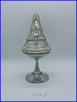 Pottery Barn 12 Mercury Glass Christmas Tree
