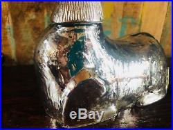Pottery Barn MERCURY GLASS Reindeer Deer Stag Christmas New Object Tree