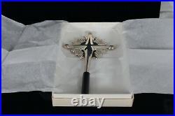 Rare! Gorham 1970 Sterling Silver Christmas Tree Topper Starburt Cross 440 Mint