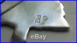 Rare James Avery Sterling Silver Pax Christmas Tree Brooch Pin / Pendant