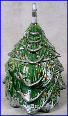 Rare Vintage 1959 Nelson McCoy Pottery Christmas Tree ...