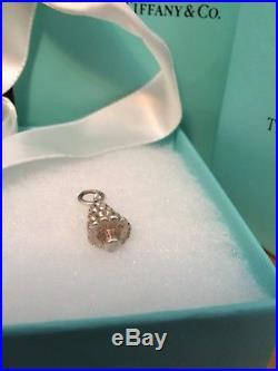 Raretiffany & Co Sterling Silver Enamel Christmas Tree Charm Pendant 4 Bracelet
