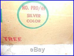 Silver Glow Aluminum Christmas Tree No Pro 49