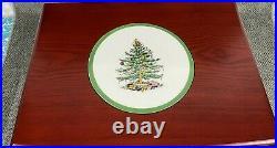 Spode Christmas Tree Flatware Service for 8 40 Piece Set