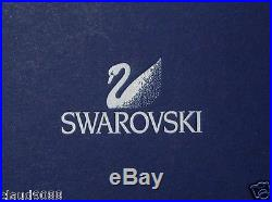 Swarovski Silver Crystal Christmas Tree Orn. 904990 Mib