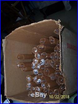 VINTAGE 6' EVERGLEAM Aluminum Christmas Tree has 114 Pom-Pom branch Original box