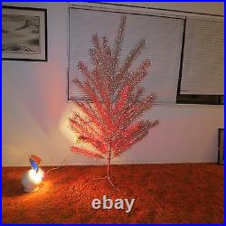 VINTAGE REGAL 6 FOOT ALUMINUM CHRISTMAS TREE With PENETRAY COLOR WHEEL & BOXES