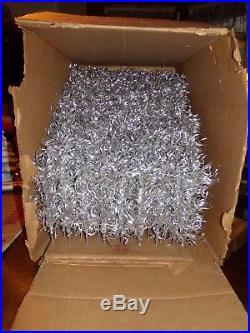 VINTAGE REVLIS STARLITE 6' ALUMINUM CHRISTMAS TREE W ORIGINAL BOX 161 branches