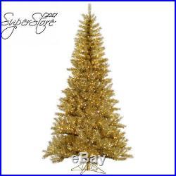 Vickerman Gold/Silver Tinsel Christmas Tree