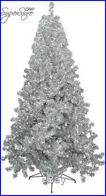 Vickerman Silver Series Christmas Tree
