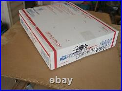 Vintage 2 FT. ALUMINUM SILVER EVERGLEAM POM POM CHRISTMAS TREE with Box