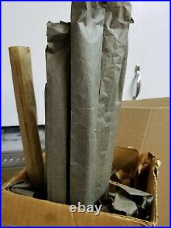 Vintage 6 ft Christmas Pine Brand Aluminum Tinsel Christmas tree in Box