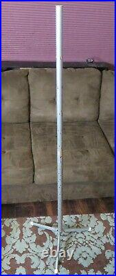 Vintage Alcoa Aluminum Christmas Tree 7 Ft Silver 121 Branches Pom Metal Corp