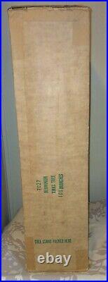 Vintage Aluminum Christmas Tree 6 1/2 Foot POM POM In Original Box NICE