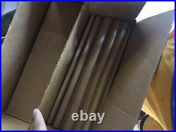 Vintage Evergleam Stainless Aluminum 4' Christmas Tree Straight Box mid Century