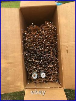 Vintage Pine Peco Deluxe Alum. Christmas Tree withoriginal box, 7.25 feet Pom Pom