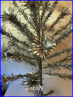 Vintage Pom Pom The Sparkler 4ft Aluminum Christmas Tree