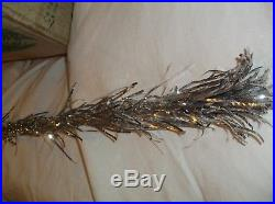 Vintage Pom-pom The Sparkler 7'(7 Foot) 88 Branch Silver Aluminum Christmas Tree