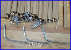 Vintage Sapphire by Regal 6 1/2 Ft. Silver Aluminum Christmas Tree withBox #5265
